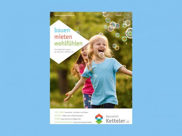 bauen mieten wohlfühlen Mitgliedermagazin